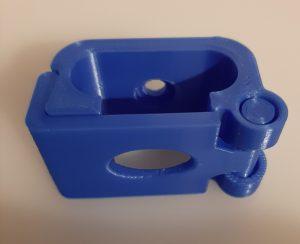 Recoge Cables Azul posición 2